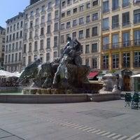 Photo taken at Place des Terreaux by Tadzio on 7/19/2012