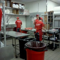 Photo taken at Five Guys by Thomas S. on 4/10/2012