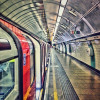 Photo taken at Brixton London Underground Station by Gus N. on 8/11/2012