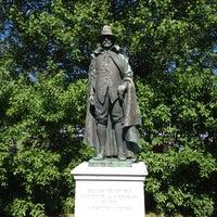 Photo taken at William Bradford Statue by Deb H. on 6/14/2012