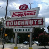 Photo taken at Krispy Kreme Doughnuts by Braden C. on 8/12/2012
