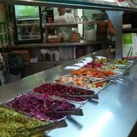 Photo taken at Maoz Vegetarian by Ryan W. on 6/15/2012