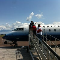 Photo taken at Houghton County Memorial Airport (CMX) by Jase on 8/14/2012
