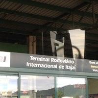Photo taken at Terminal Rodoviário Internacional de Itajaí (TERRI) by Priscilla N. on 2/26/2012