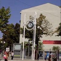 Photo taken at Часовникът (The City Clock) by Uwe L. on 8/21/2012