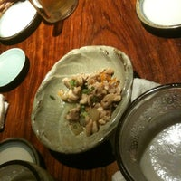 Photo taken at 魚もつ鍋 魚呑 うおどん 高円寺店 by Kazuhiro S. on 5/19/2012