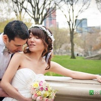 Photo taken at City Hall Wedding Photographer by Victor V. on 5/7/2012