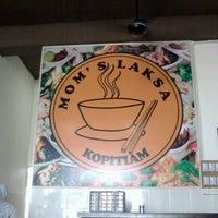 Photo taken at Mom's Laksa Kopitiam by ZahirShah K. on 9/3/2012