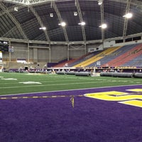 Photo taken at UNI-Dome by Nathan W. on 6/13/2012