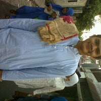 Photo taken at Masjid Al Amin Kemenkeu by Ekka P. on 8/18/2012