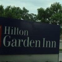 Photo taken at Hilton Garden Inn Kansas City by Tim P. on 5/25/2012