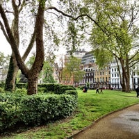 Photo taken at Bloomsbury Square by Marcelo A. on 5/15/2012