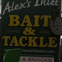 Photo taken at Alex's Bait & Tackle by Jenn G. on 6/11/2012