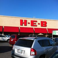 Photo taken at H-E-B by Andy B. on 5/29/2012