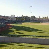 Photo taken at Stockton Ballpark by B. G. on 8/24/2012