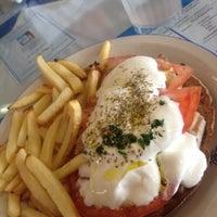 Photo taken at Panos Kretan House by Maury R. on 9/4/2012