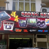 Photo taken at Siong Seng Auto Accessories Sdn Bhd by Hamzah W. on 3/2/2012