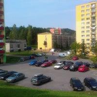 Photo taken at Sídlisko Medvedzie by Dusan B. on 9/3/2012