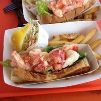 Photo taken at Portland Lobster Company by Tim M. on 8/3/2012