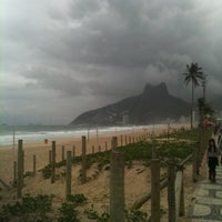 Photo taken at Avenida Vieira Souto by Fabio P. on 6/8/2012