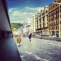 Photo taken at Palacio de Congresos Kursaal by Brj on 5/8/2012