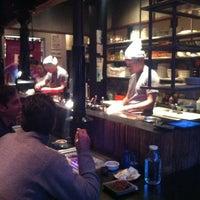 Photo taken at Takashi by Marc V. on 4/18/2012