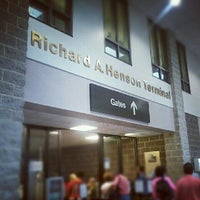 Photo taken at Salisbury-Ocean City: Wicomico Regional Airport (SBY) by Dasha Z. on 8/21/2012