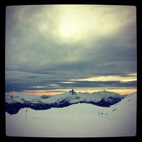 Photo taken at Whistler Mtn. Peak by Tessa S. on 2/6/2012