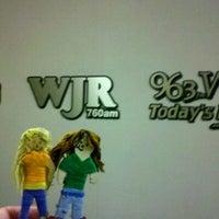 Photo taken at WJR Control 1 by Eric K. on 6/16/2012