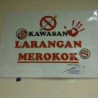 Photo taken at Smoking area by Annakku Sazali on 9/11/2012