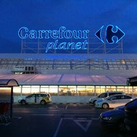 Photo taken at Carrefour by Derek A. on 2/14/2012