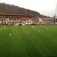Photo taken at Estádio da Madeira by Luis V. on 3/16/2012