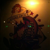 Photo taken at Lucky Jack's by Gabriel on 7/8/2012