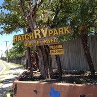 Photo taken at Hatch RV Park by Kim K. on 5/20/2012