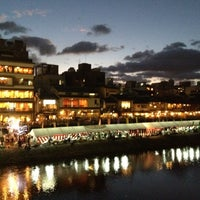 Photo taken at Gion-shijo Station (KH39) by Kwon H. on 8/4/2012