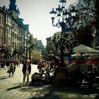 Снимок сделан в Площадь Рынок пользователем Оля К. 8/28/2012