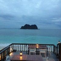 Photo taken at Rocks Bar @ Vomo Island Resort by Chuck D. on 5/18/2012