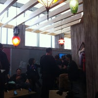Photo taken at Microsoft Lounge - Featuring Win Phone and Windows by Chris L. on 3/10/2012