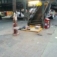 Photo taken at MTA Subway - Astoria/Ditmars Blvd (N/W) by Len C. on 7/23/2012