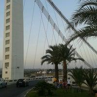 Photo taken at Bimilenario Bridge by Rubén D. on 8/13/2012