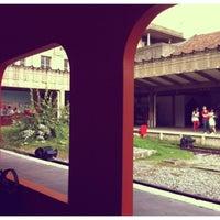Photo taken at Tanjong Pagar Railway Station by Renée on 8/9/2012