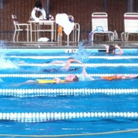 Photo taken at Poolside @ Wyngate Recreation Center by Cathleen F. on 5/7/2012