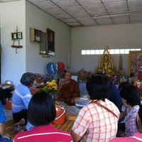 Photo taken at วัดสุวรรณวารี by Thammasak C. on 8/13/2012