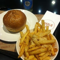 Photo taken at Charlie & Co. Burgers by Simon C. on 7/5/2012