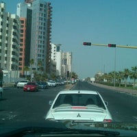 Photo taken at تقاطع البلاجات وشارع المطاعم by mohammed t. on 3/10/2012