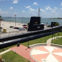 Photo taken at Seawolf Park by James K. on 7/18/2012