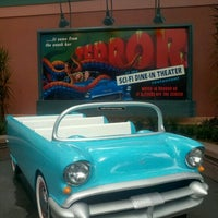 Photo taken at Sci-Fi Dine-In Theater by Lauren P. on 7/25/2012