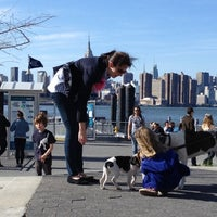 Photo taken at East River Park by Patrik M. on 4/8/2012