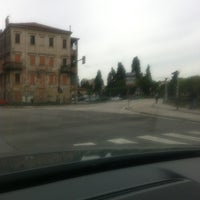 Photo taken at Piazzale Boschetti by Simone T. on 5/22/2012