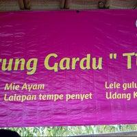 Photo taken at Warung Gardu by yoni w. on 7/10/2012